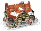 3D-пазл CubicFun Рождественский домик 1 (P647h), 53 дет.