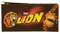 Батончик Lion вафельный с карамелью, 42 г, коробка