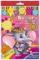 Набор цветного картона и цветной бумаги крепированная 31377 Феникс+, A4, 8 л., 7 цв.
