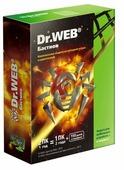 Dr.Web Security Space + Atlansys Bastion (2 ПК, 1 год) коробочная версия