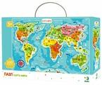 Пазл Dodo Карта мира (R100110), 100 дет.