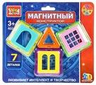 Магнитный конструктор ГОРОД МАСТЕРОВ Магнитный 4021