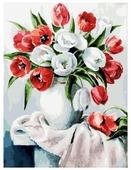 """Белоснежка Картина по номерам """"Красные и белые"""" 30х40 см (070-AS)"""