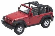 Внедорожник Welly Jeep Wrangler Rubicon 2007 (39885C) 1:32