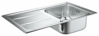 Врезная кухонная мойка Grohe K400 31566SD0 86х50см нержавеющая сталь