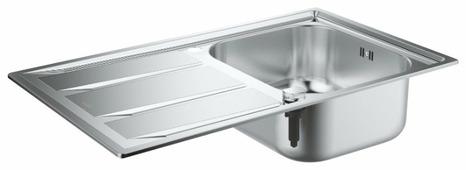 Врезная кухонная мойка Grohe K400 31566SD0