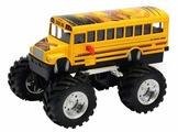 Монстр-трак Welly школьный автобус-бигфут (47006S)