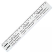 СТАММ Линейка справочная Единицы измерения 20 см (ЛС01)