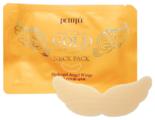 Petitfee Гидрогелевая маска с экстрактом золота для эластичности и молодости кожи шеи