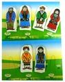 Наивный мир Набор пальчиковых кукол Семья башкирская (023.11)