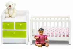 Набор для домика Lundby Смоланд Детская для младенца, 60208500