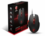 Мышь MSI Interceptor DS300 GAMING Mouse, Black, USB
