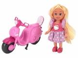 Кукла Карапуз Hello Kitty Моя подружка Машенька, на скутере, 12 см, MARY010X-HK