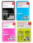 Набор картриджей Oce ColorWave 500 Cyan/ Magenta/ Yellow/ Black, 5 комплектов 4х500г