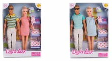 Набор кукол Defa Lucy Семейная пара 8349