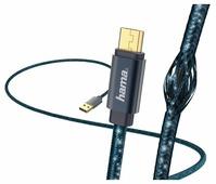 Кабель HAMA USB - microUSB Glitter (00183204) 1.5 м