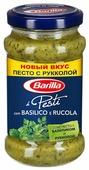 Соус Barilla Pesti con basilico e rucola, 190 г