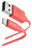 Кабель HAMA USB - Apple Lightning Flat 1.2 м