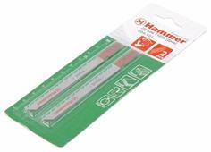 Набор пилок для лобзика Hammer JG WD T101B 204-101 2 шт.