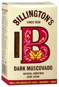 Сахар Billington's Dark Muscovado, картонная коробка