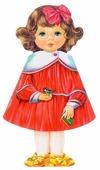 Стрекоза Кукла-книжка. Полина