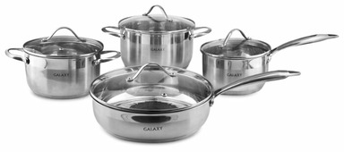 Набор посуды GALAXY GL9506 8 пр.