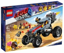 Конструктор LEGO The LEGO Movie 70829 Побег Эммета и Дикарки на багги