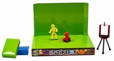 Игровой набор Zing Stikbot Анимационная студия со сценой и питомцем TST617A