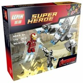 Конструктор Lepin Super Heroe 07012 Железный человек против Альтрона