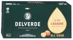 Delverde Industrie Alimentari Spa Лазанья № 103 Lasagne all'uovo, 500 г