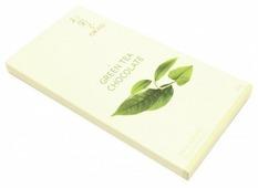 Шоколад Okasi белый с чаем матча