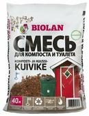 Земляная смесь Biolan для компоста и туалета 40 л.