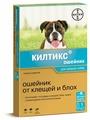 Ошейник от блох и клещей Килтикс (Bayer) инсектоакарицидный для собак и щенков