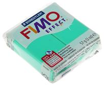 Полимерная глина FIMO Effect запекаемая полупрозрачный зелёный (8020-504), 57 г