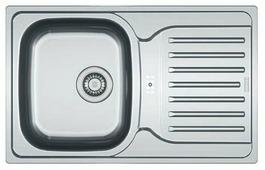 Врезная кухонная мойка FRANKE PXL 614-78 78х49см нержавеющая сталь