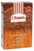 С.Пудовъ Смесь для выпечки хлеба Русский черный хлеб, 0.5 кг