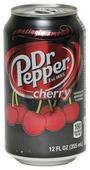 Dr Pepper Газированный напиток Dr. Pepper Cherry, США
