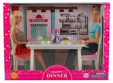 Набор кукол Defa Lucy Ужин в ресторане 8387 в ассортименте