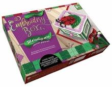Danko Toys Набор для вышивания Embroidery Box Шкатулка Набор 6 (EMB-01-06)