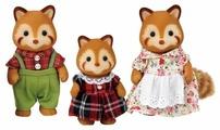 Фигурки Sylvanian Families Семья красных панд 5215