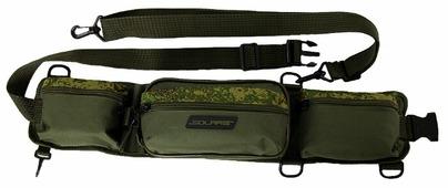 Поясная сумка для охоты, для рыбалки SOLARIS S5404 65х7х13.5см