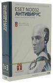 ESET NOD32 Антивирус (3 ПК, 1 год) коробочная версия