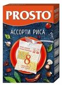 Рис PROSTO Ассорти (бурый, круглозерный, длиннозерный, обработанный паром) 500 г