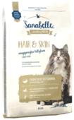 Корм для кошек Sanabelle для здоровья кожи и шерсти