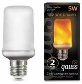 Лампа светодиодная gauss 157402105, E27, T65, 5Вт