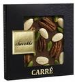 Шоколад chocoMe молочный с орехом пекан, миндалем из Сицилии, фисташкой Бронте