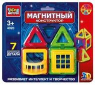 Магнитный конструктор ГОРОД МАСТЕРОВ Магнитный 4020