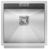 Врезная кухонная мойка AQUASANITA Dera DER100X 45х45см нержавеющая сталь