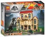 Конструктор BELA (Lari) Dinosaur World 10928 Нападение Индораптора в поместье Локвуд