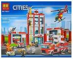 Конструктор BELA Cities 10831 Пожарная часть